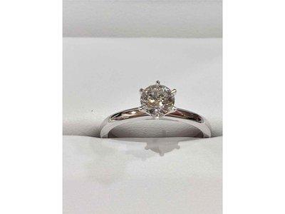 Ring Solitaire briljant - 18kt Bicolor | B&B Design